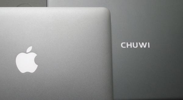 MacBook Air vs Chuwi Lapbook Air