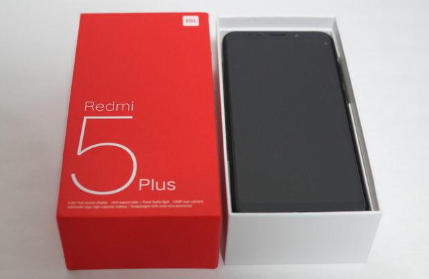 Xiaomi Redmi 5 Plus 外箱開封