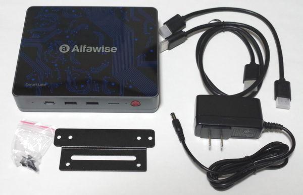 Alfawise T1 付属品
