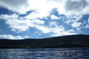 Lake Titicaca in Copacabana