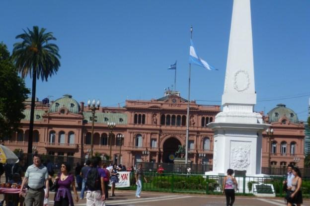 Casa Rosada (Government House) in Buenos Aires