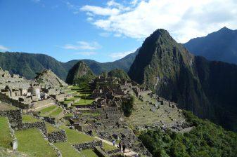 Inside Machu Picchu, near Cusco, Peru