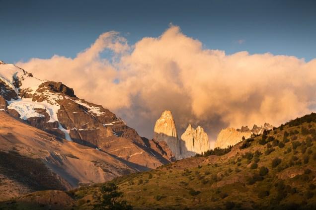Landscapes in Torres del Paine National Park