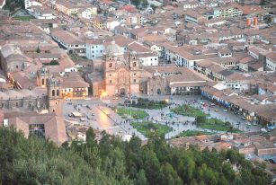 Main square in Cusco, Peru