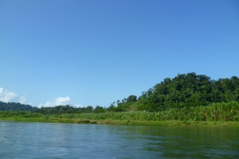 Boat trip with the Brirbri to Yorkin, South Caribbean Costa Rica