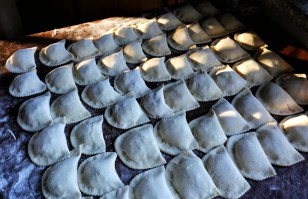 Argentinean empanadas ready for the oven