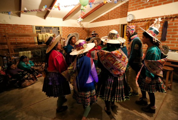 A great end to our day with a good old fashioned traditional Chunu Chununi dance, Bolivia