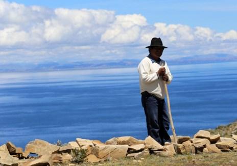 Our guide Esteban on the Sun Island