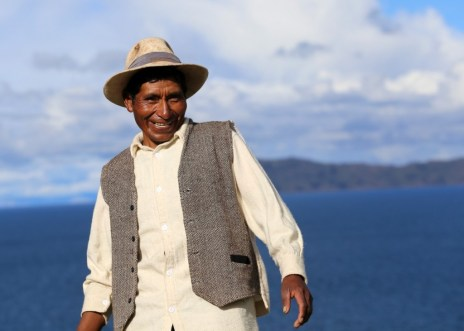 Orlando, one of the best people we met on our trip: A kind, no-frills man, Lake Titicaca