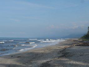 The Caribbean coast, near Santa Marta, Colombia
