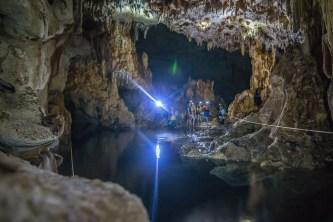 Exploring the incredible subterranean river of Takkbil'Ja, in Mexico