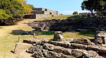 Fascinating Quahuiztlan Totonac Archaeological Ruins, Veracruz, Mexico