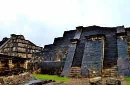 Impressive pyramids at the pre-Columbian archeological site, Veracruz, Mexico