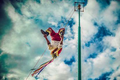 Papantla Flyers, Tajin, Veracruz, Mexico