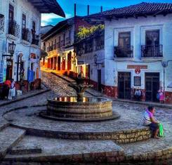 The Magical Town Cuetzalan in the north of Puebla state, Mexico