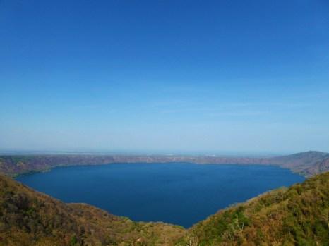 Laguna de Apoyo, seen from the mirador of Catarina, near Masaya, Nicaragua