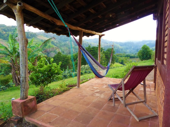 Views from the cabins, La Fundadora community cooperative, Northern Nicaragua