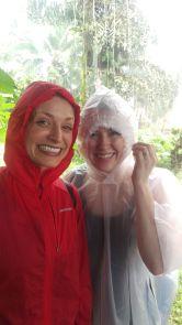 Rain break in the middle of the Finca Sura farm trek, Costa Rica