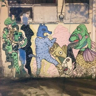 Graffiti Art downtown San Jose, Costa Rica