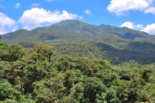 The magnificent Tenorio Volcano in Costa Rica