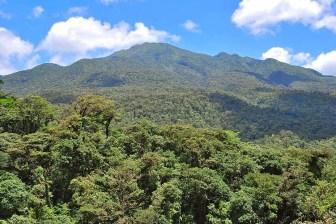 The magnificent Tenorio Volcano in Costa Rica