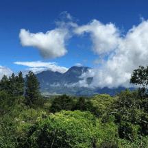The impressive Baru Volcano in Chiriqui, Panama