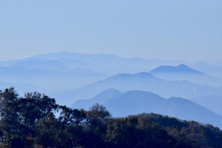 The beautiful mountains of the Serrania Cuetzalan in Puebla, Mexico