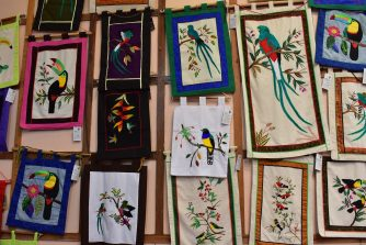 Supporting local women artisans after the Monteverde Footprints Tour in Costa Rica