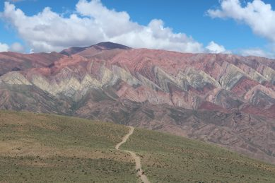 The stunning 14-colour mountain of El Hornocal in Northwest Argentina