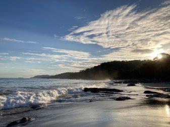 The lovely beach at Montezuma, Costa Rica