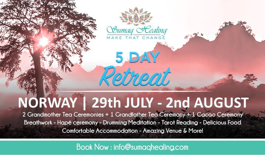 Norway 5 Day Shamanic Spiritual Retreat 29th July – 2nd August 2020