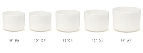 5 frosted bowl endocrine set