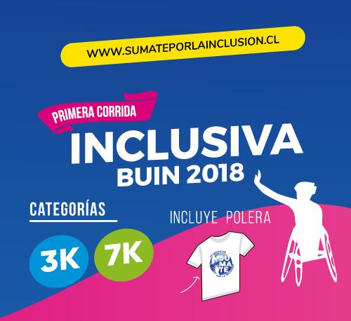 1era Corrida Inclusiva Buin 2018