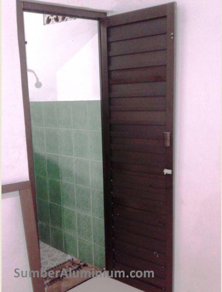Pintu aluminium kamar Mandi Taklim