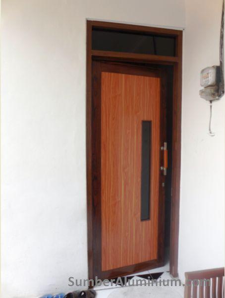 Pintu aluminium Panel