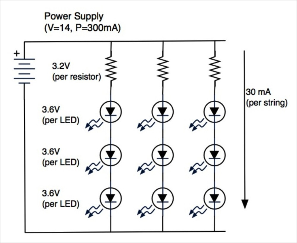 medium resolution of basic led lights