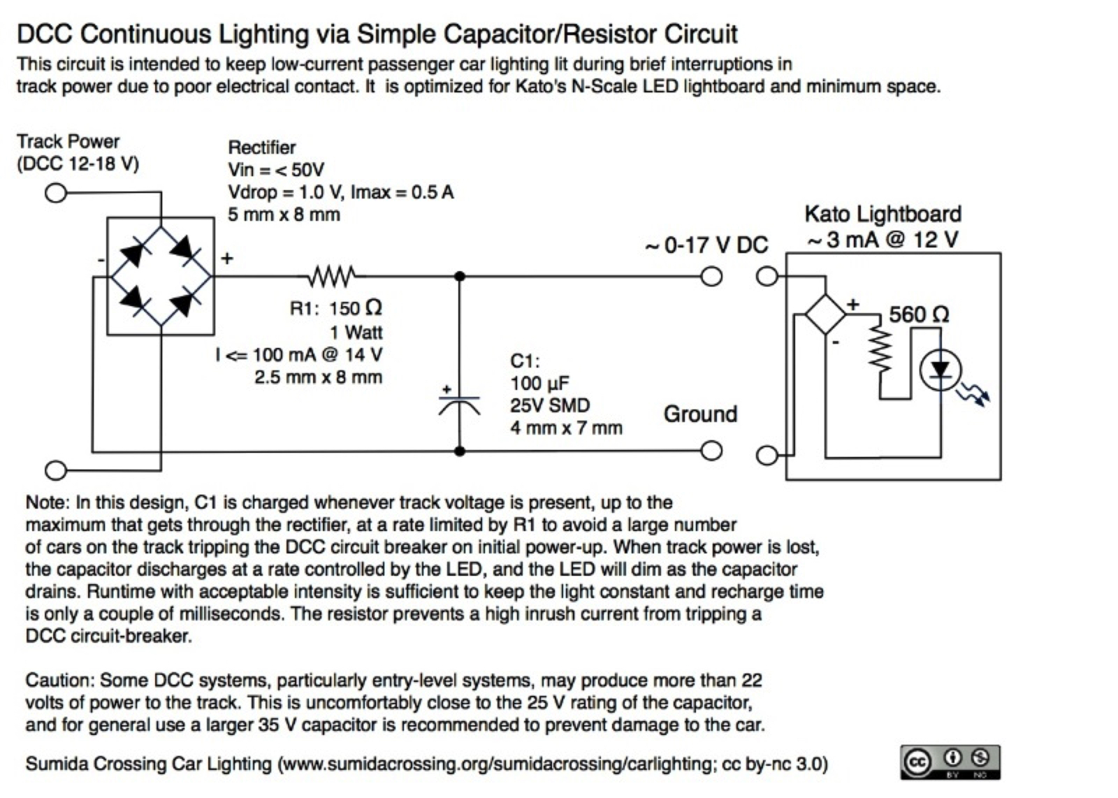 hight resolution of simple capacitor ckt