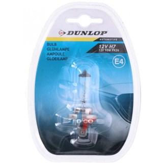 Afbeelding van Dunlop Gloeilamp 12v H7 55W voor auto