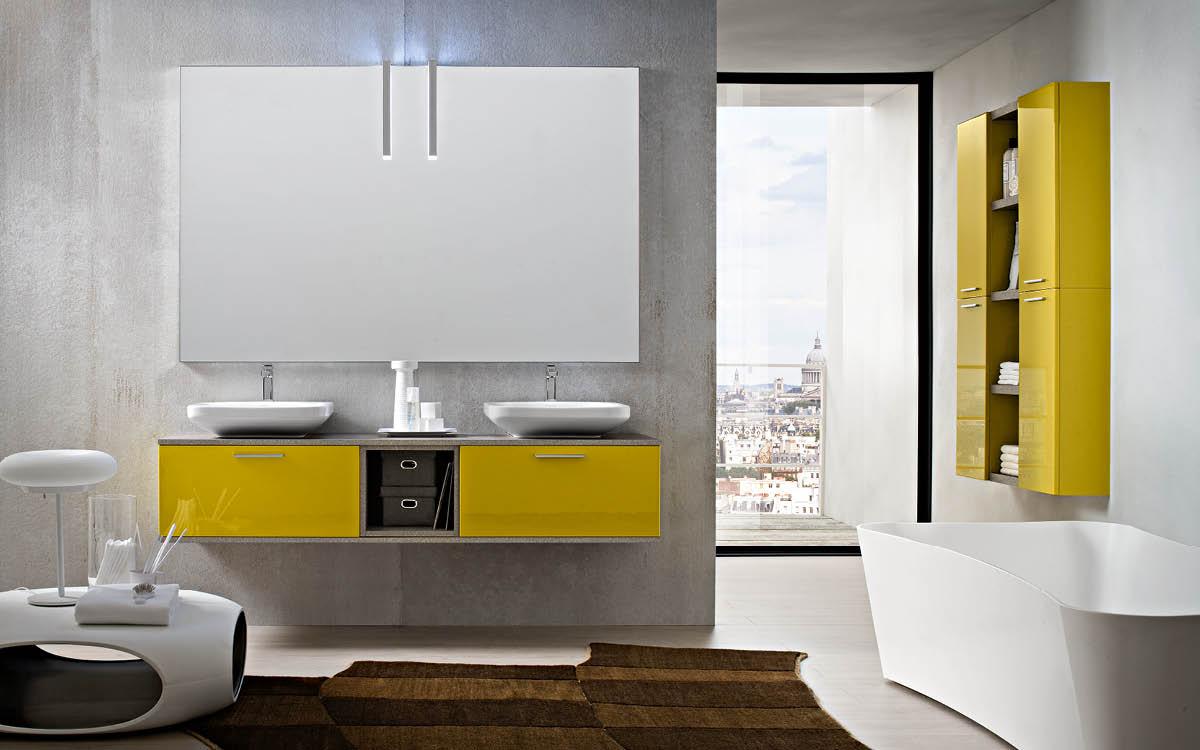 Bagni in stile moderno Torino  SUMISURA Fabbrica arredamenti
