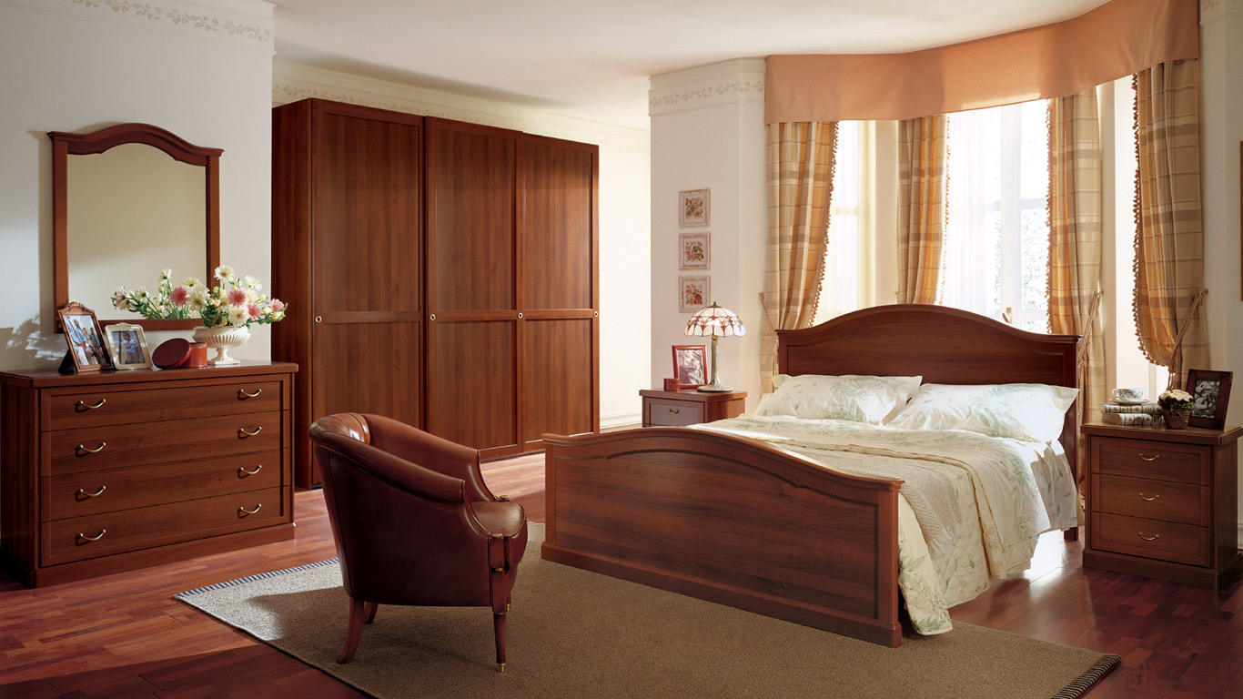 Camere da letto classiche Torino  SUMISURA fabbrica