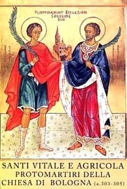 sveta Vital in Agrikola - mučenca