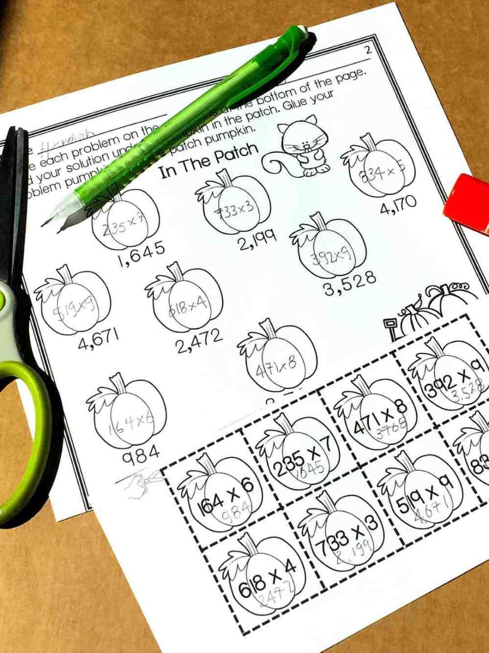 medium resolution of Free} Multi-Digit Multiplication Worksheets - Sum Math Fun