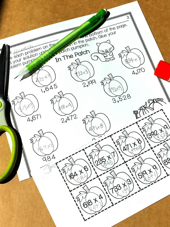 hight resolution of Free} Multi-Digit Multiplication Worksheets - Sum Math Fun