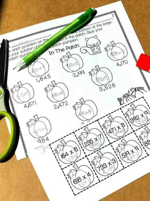 small resolution of Free} Multi-Digit Multiplication Worksheets - Sum Math Fun