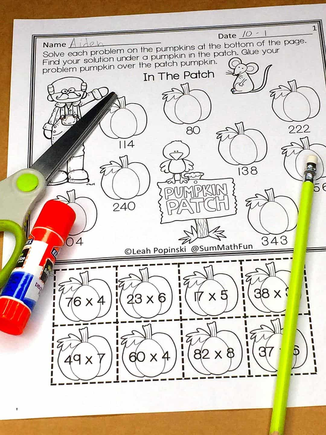 Free Multi Digit Multiplication Worksheets
