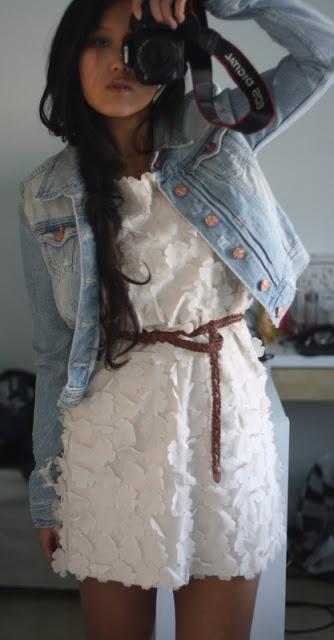 Jeansjacke & neues Kleidchen