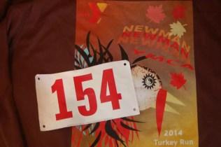 First Official 5K run – Newman YMCA, Seekonk, MA