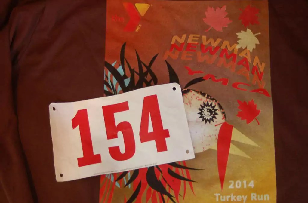 First Official 5K run – Newman YMCA, Seekonk, MA