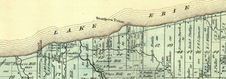 Sturgeon Point map