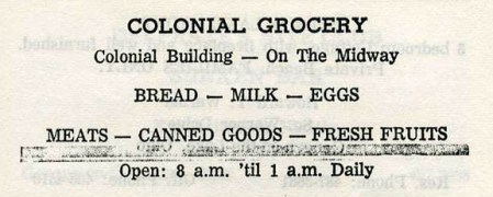 colonial grocery